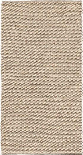 Wollteppich »Ilda«, Dekowe, rechteckig, Höhe 14 mm, reine Wolle, handgewebt, Wohnzimmer