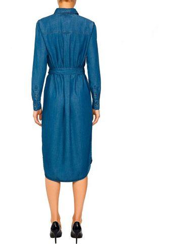 TOMMY HILFIGER Džinsinė suknelė Marškinėliai LS W2 RU...