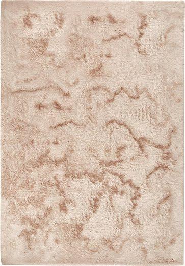 Fellteppich »Roger«, Dekowe, rechteckig, Höhe 20 mm, Kunstfell, Kaninchenfell-Haptik, ein echter Kuschelteppich, Wohnzimmer