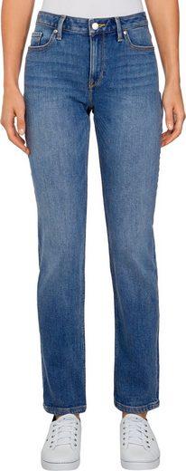 TOMMY HILFIGER 5-Pocket-Jeans »ROME STRAIGHT RW IZZY« Dezente Tommy Hilfiger Logostickerei