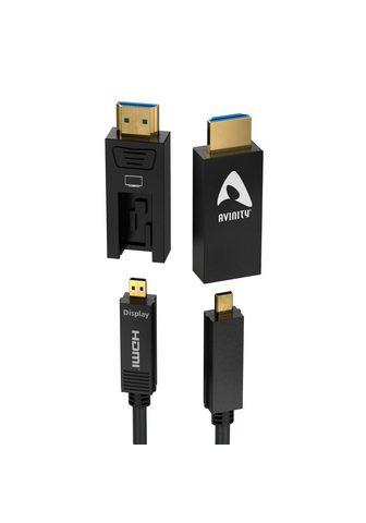 AVINITY Imitacija aktives HDMI-Laidas su adapt...