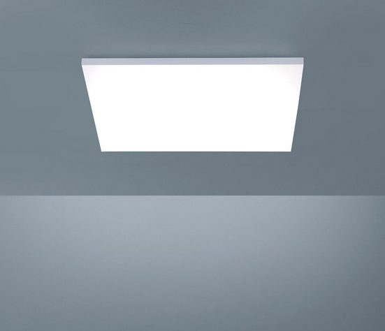 Paul Neuhaus Deckenleuchte »FRAMELESS«  LED-Panel mit Farbtemperaturregelung (warmweiß-tageslichtwei)  rahmenlos und quadratisch  Dimmbar über Funkfernbedienung