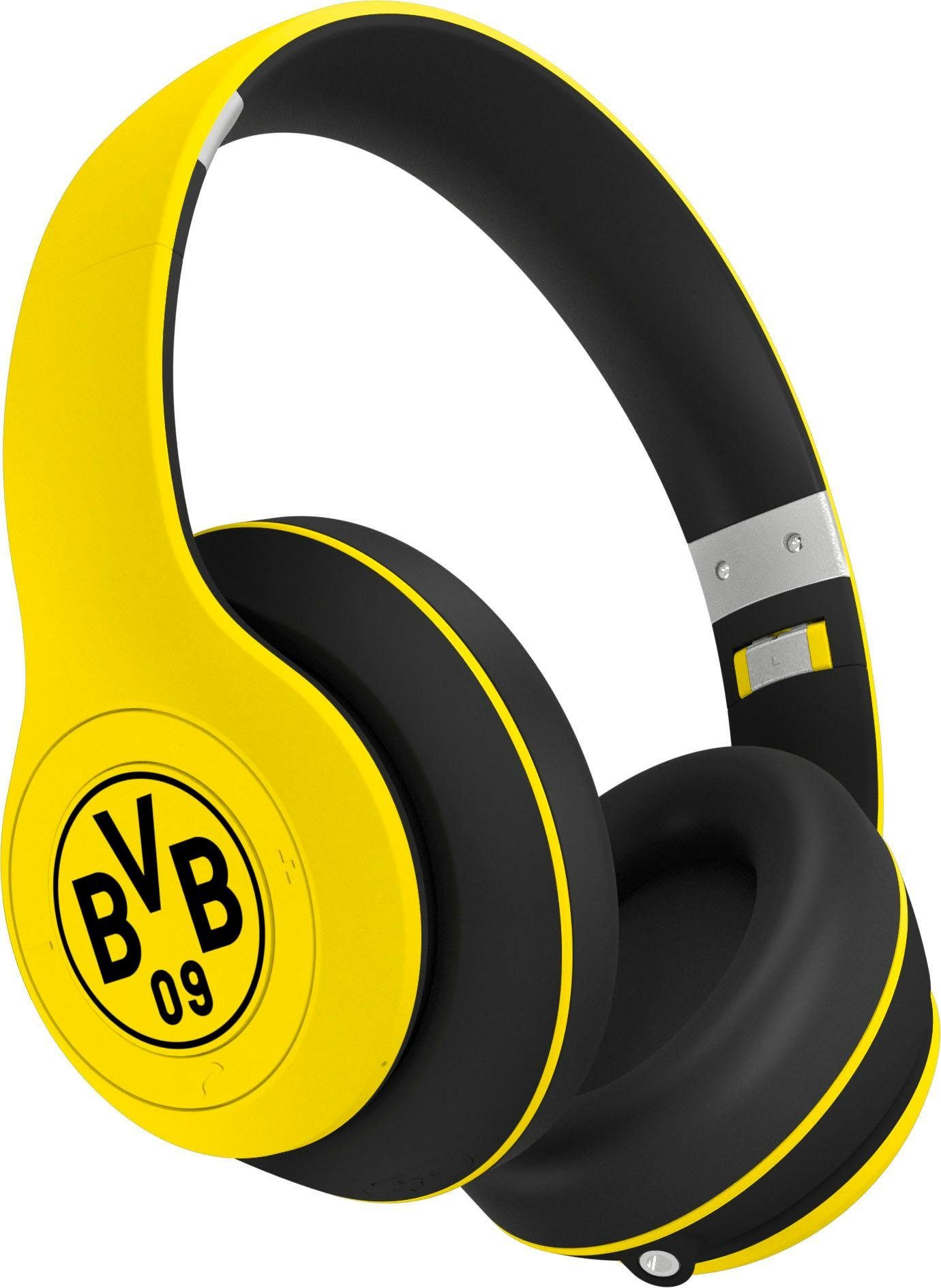 ready2music »RIVAL BVB Edition« Bluetooth Kopfhörer (Bluetooth, BVB Fan Edition) online kaufen | OTTO