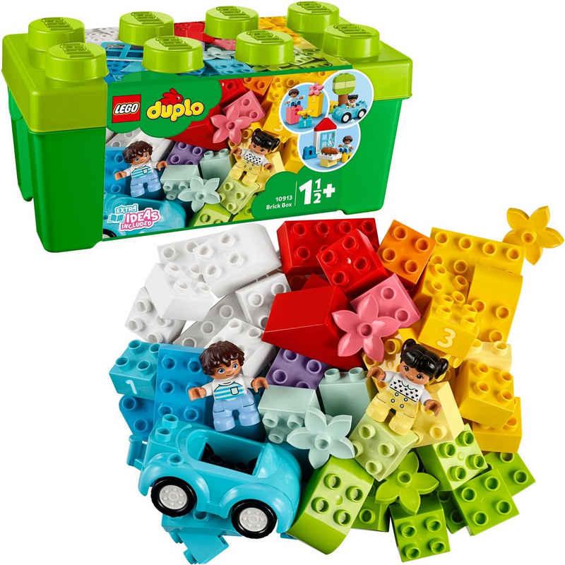 LEGO® Konstruktionsspielsteine »LEGO® DUPLO® Steinebox (10913), LEGO® DUPLO® Classic«, (65 St), Made in Europe