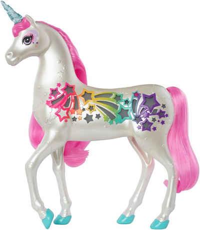 Barbie Spielfigur »Dreamtopia Regenbogen-Königreich Magisches Haarspiel Einhorn«