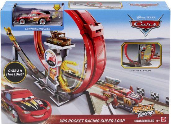 Mattel® Autorennbahn »Disney Pixar Cars, Xtreme Racing Serie Raketen-Rennen Super-Looping«