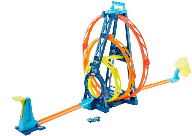 Hot Wheels Autorennbahn »Track Builder Unlimited Looping-Set«, inkl. 1 Spielzeugauto