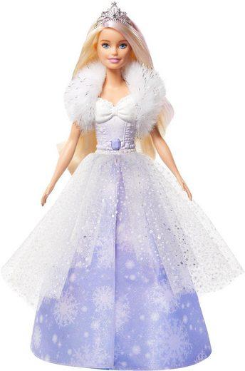 Mattel® Anziehpuppe »Barbie Dreamtopia Schneezauber Prinzessin«