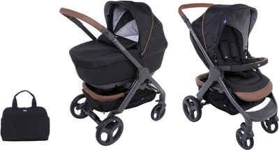 Chicco Kombi-Kinderwagen »Duo Stylego Up Crossover, Pure Black«, ; Kinderwagen
