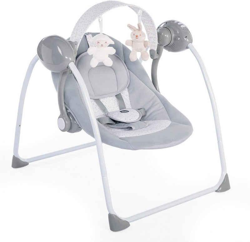 Chicco Babyschaukel »Relax & Play, Cool Grey«, elektrisch