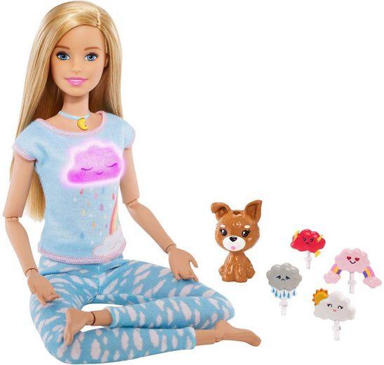 Mattel® Anziehpuppe »Barbie Wellness Meditation Puppe, blond«
