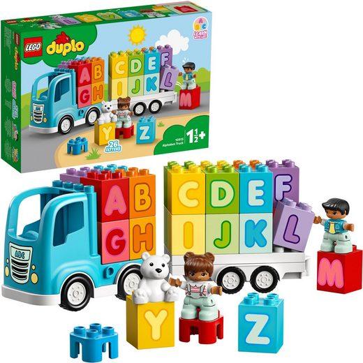 LEGO® Konstruktionsspielsteine »Mein erster ABC-Lastwagen (10915), LEGO® DUPLO® Creative Play«, (36 St)