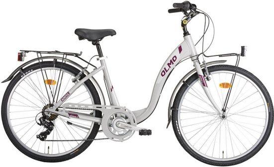 OLMO Cityrad, 7 Gang Shimano TY-300 Schaltwerk, Kettenschaltung, (1-tlg)