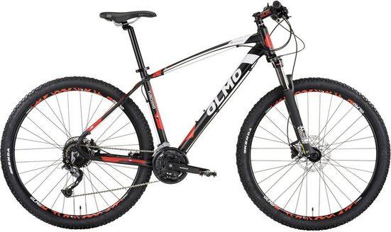 OLMO Mountainbike, 27 Gang Shimano M4000GS Schaltwerk, Kettenschaltung, (1-tlg)