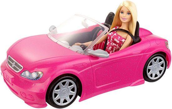 Mattel® Puppen Fahrzeug »Barbie Glam Cabrio«, mit Puppe