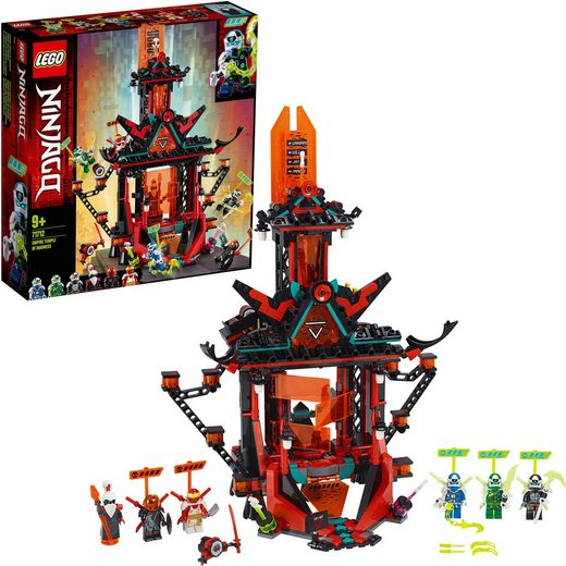 LEGO® Konstruktionsspielsteine »Tempel des Unsinns (71712), LEGO® NINJAGO®«, (810 St)