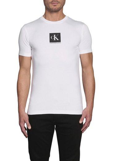 Calvin Klein Jeans T-Shirt »CENTER MONOGRAM BOX SLIM TEE«