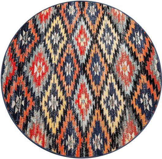 Teppich »Artigo 405«, Paco Home, rund, Höhe 11 mm, In- und Outdoor geeignet