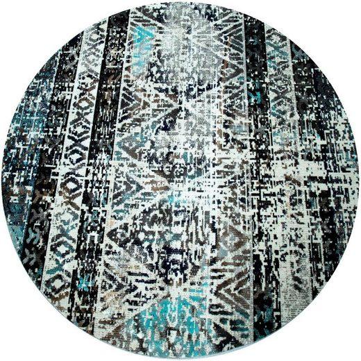 Teppich »Artigo 423«, Paco Home, rund, Höhe 11 mm