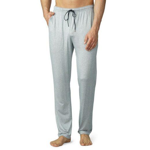 Mey Schlafhose »Club Jefferson Loungewear Hose lang - mit Taschen« Legere Passform, Komfortbund mit Kordelzug, Gesäßtasche und seitliche Eingrifftaschen