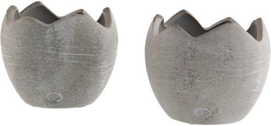 Fabriano Pflanzschale »Egg Lorella« (Set, 2 Stück), Durchmesser 11 cm