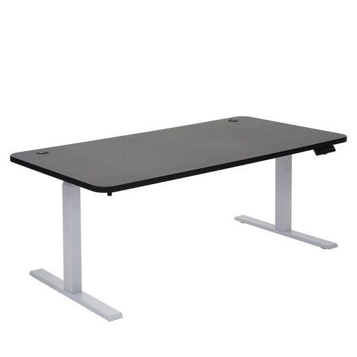 MCW Schreibtisch »MCW-D40-53«, Stufenlos höhenverstellbar, Variable Gestellbreite, Angetrieben von 2 Motoren, Memory-Funktion