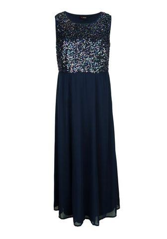 MIAMODA Suknelė su subtilus skraistė iš šifona...