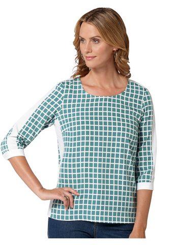 Блуза в hübschen Karo-Dessin