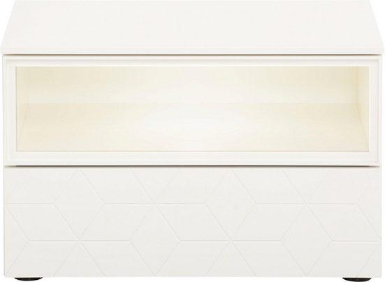 Villeroy & Boch Nachtkommode »MOSAÏQUE Luna carré«, mit Nische und Schubkasten