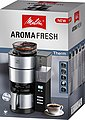 Melitta Kaffeemaschine mit Mahlwerk AromaFresh Therm 1021-12 schwarz, 1,2l Kaffeekanne, Papierfilter 1x4, Bild 11