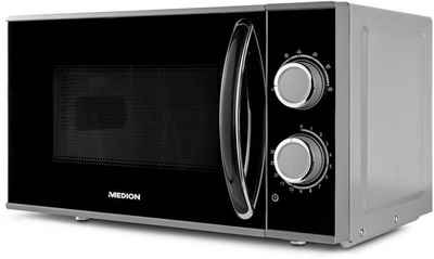 Medion® Mikrowelle MD 15644, Mikrowelle, 17 l, Auftaufunktion