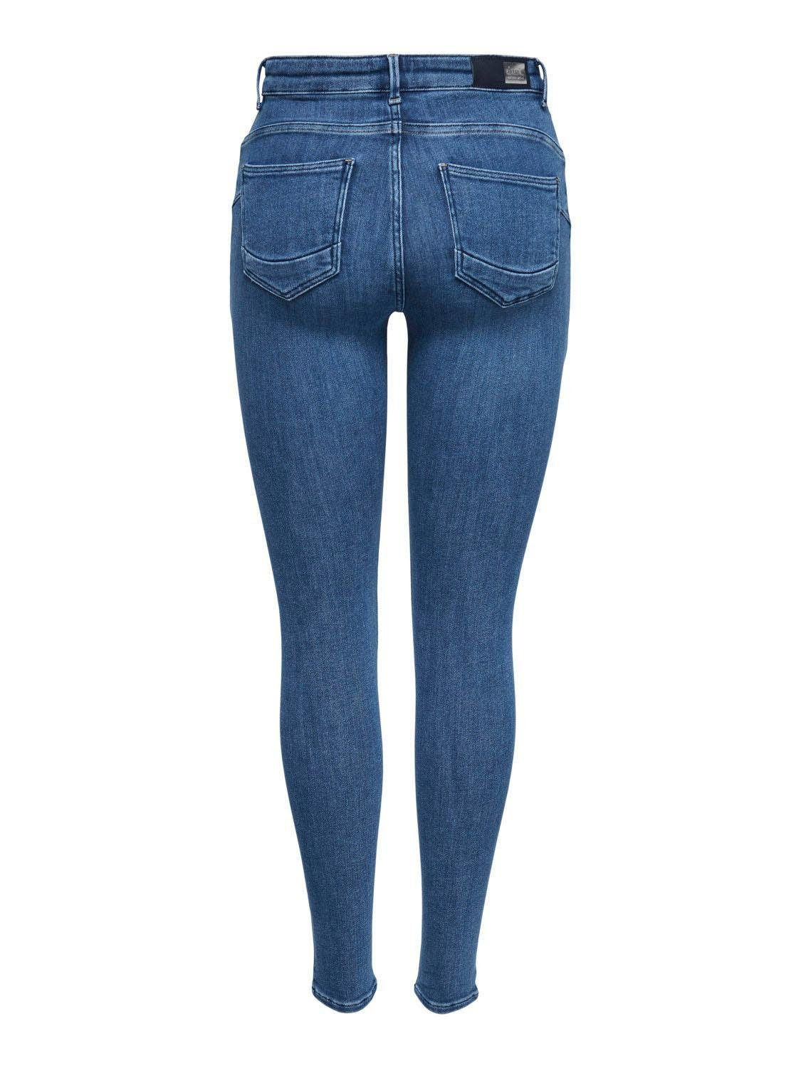Only Skinny-fit-Jeans POWER PUSH UP mit Push-up-Effekt