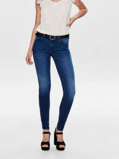 ♥ MELLY /& CO Weinroter Seiten Streifen Jeans Dunkel Blau *92