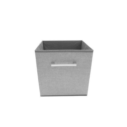 HTI-Line Aufbewahrungsbox »Aufbewahrungsbox Paloma mit Griff« (1 Stück), Stoffbox