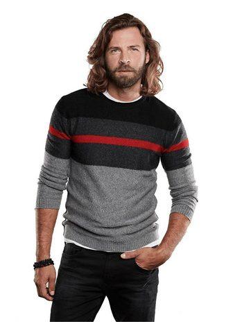 EMILIO ADANI Модный вязаный пуловер