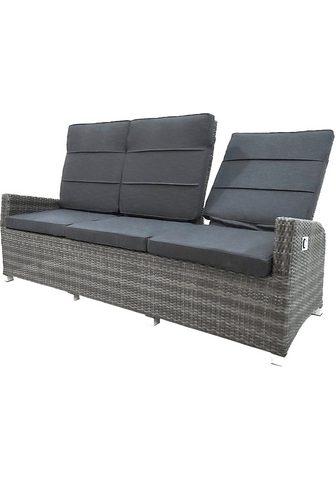 PLOSS Sofa »Vigo« Trivietė sofa Polyrattan/A...