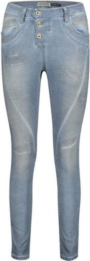 Please Jeans Röhrenjeans »P78A« im Authenic Used Look
