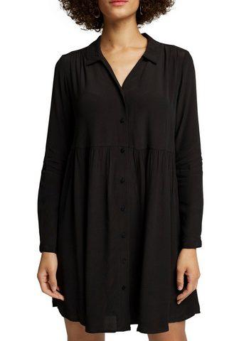 Esprit Suknelė su gerüschtem Sijonas ir Knopf...