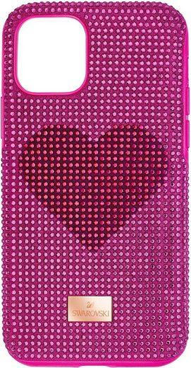 Swarovski Smartphone-Hülle »Crystalgram Heart Smartphone Schutzhülle mit integriertem Stoßschutz, iPhone® 11 Pro, rosa, 5540723« Apple iPhone 11 Pro, mit Swarovski® Kristallen