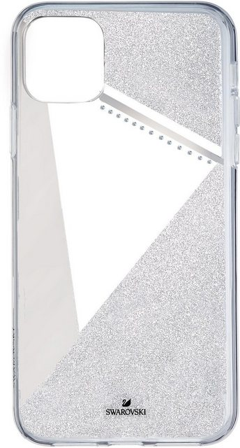Taschen, Hüllen - Swarovski Smartphone Hülle »Subtle Smartphone Schutzhülle mit integriertem Stoßschutz, iPhone® 11 Pro, silberfarben, 5536847« Apple iPhone 11 Pro, mit Swarovski® Kristallen  - Onlineshop OTTO