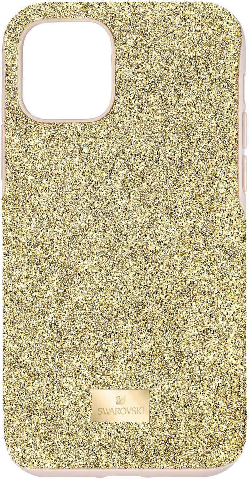 Swarovski Smartphone-Hülle »High Smartphone Schutzhülle mit integriertem Stoßschutz, iPhone® 11 Pro, goldfarben, 5533961« iPhone 11 Pro, mit Swarovski® Kristallen