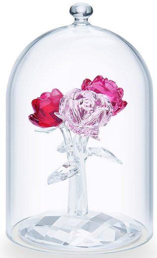 Swarovski Dekofigur »Rosenbouquet, 5493707« (Set, 2 Stück), Swarovski® Kristall