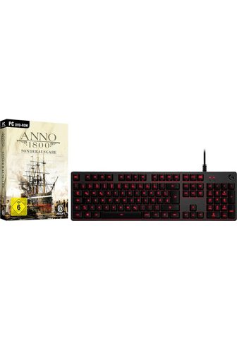 LOGITECH G »G413« Žaidimų klaviatūra