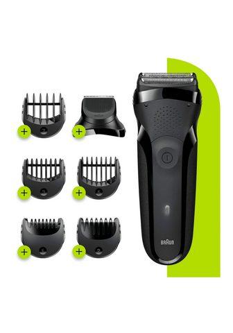 BRAUN Elektrinis skustuvas Series 3 Shave&St...