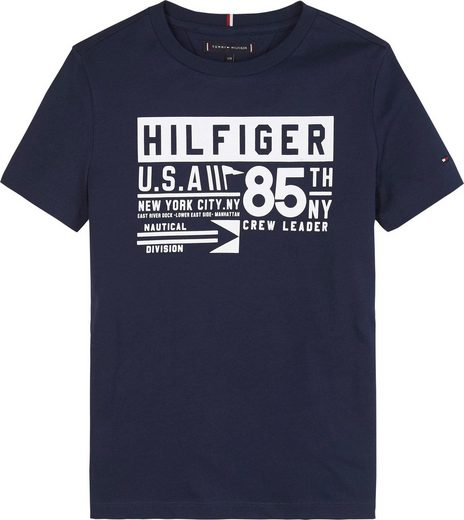 TOMMY HILFIGER T-Shirt »REFLECTIVE TH 85«