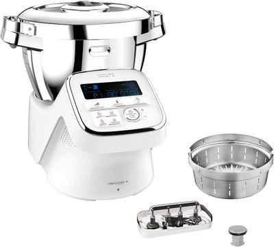 Krups Küchenmaschine mit Kochfunktion HP60A1 i Prep&Cook Gourmet XL, 1550 W, 4,5 l Schüssel