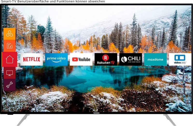 Telefunken D50V800M4CWH LED-Fernseher (126 cm/50 Zoll, 4K Ultra HD, Smart-TV, 36 Monaten Herstellerlangzeitgarantie)