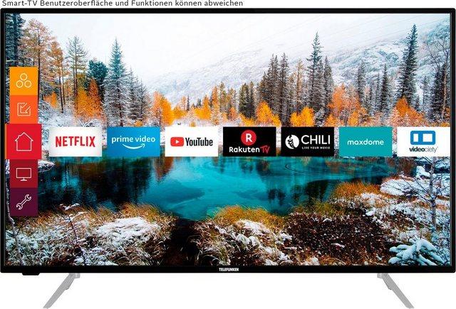 Telefunken D43V800M4CWH LED-Fernseher (108 cm/43 Zoll, 4K Ultra HD, Smart-TV, 4K UHD TV, HDR)