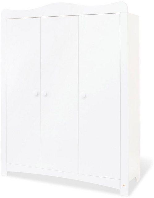 Babyzimmer - Pinolino® Babyzimmer Komplettset »Florentina«, (Set, 4 tlg), breit groß mit Regalaufsatz  - Onlineshop OTTO