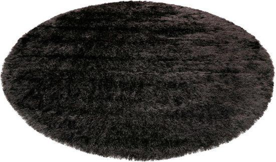 Hochflor-Teppich »City Glam«, Esprit, rund, Höhe 70 mm, weiche Haptik